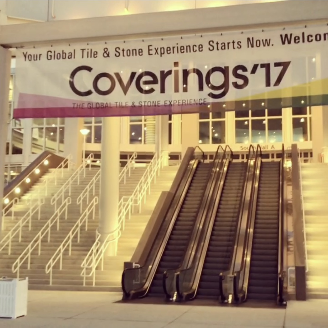 Coverings Orlando 2017 Tile & Stone Show - Entrance