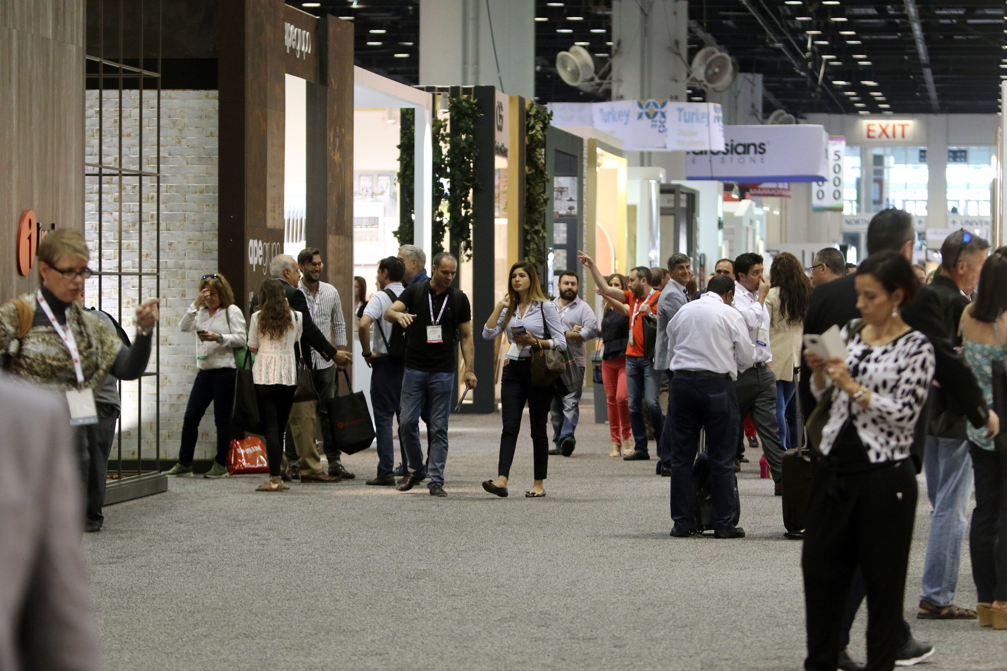 Coverings Stone & Tile Show Exhibition Hall