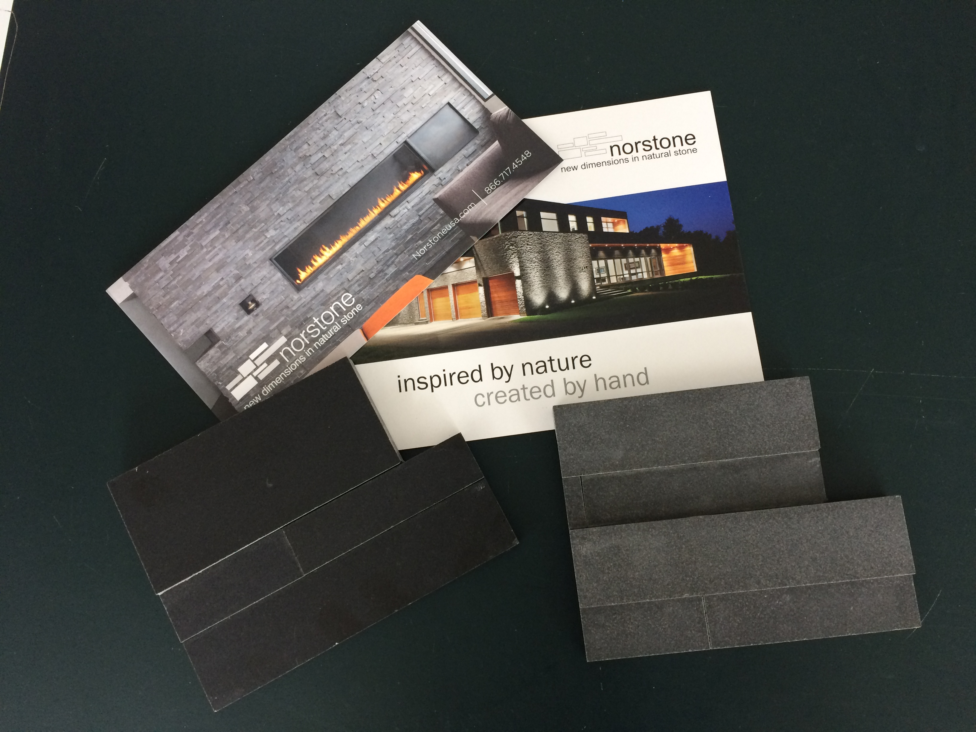 Norstone Sample Literature for Stone Veneer
