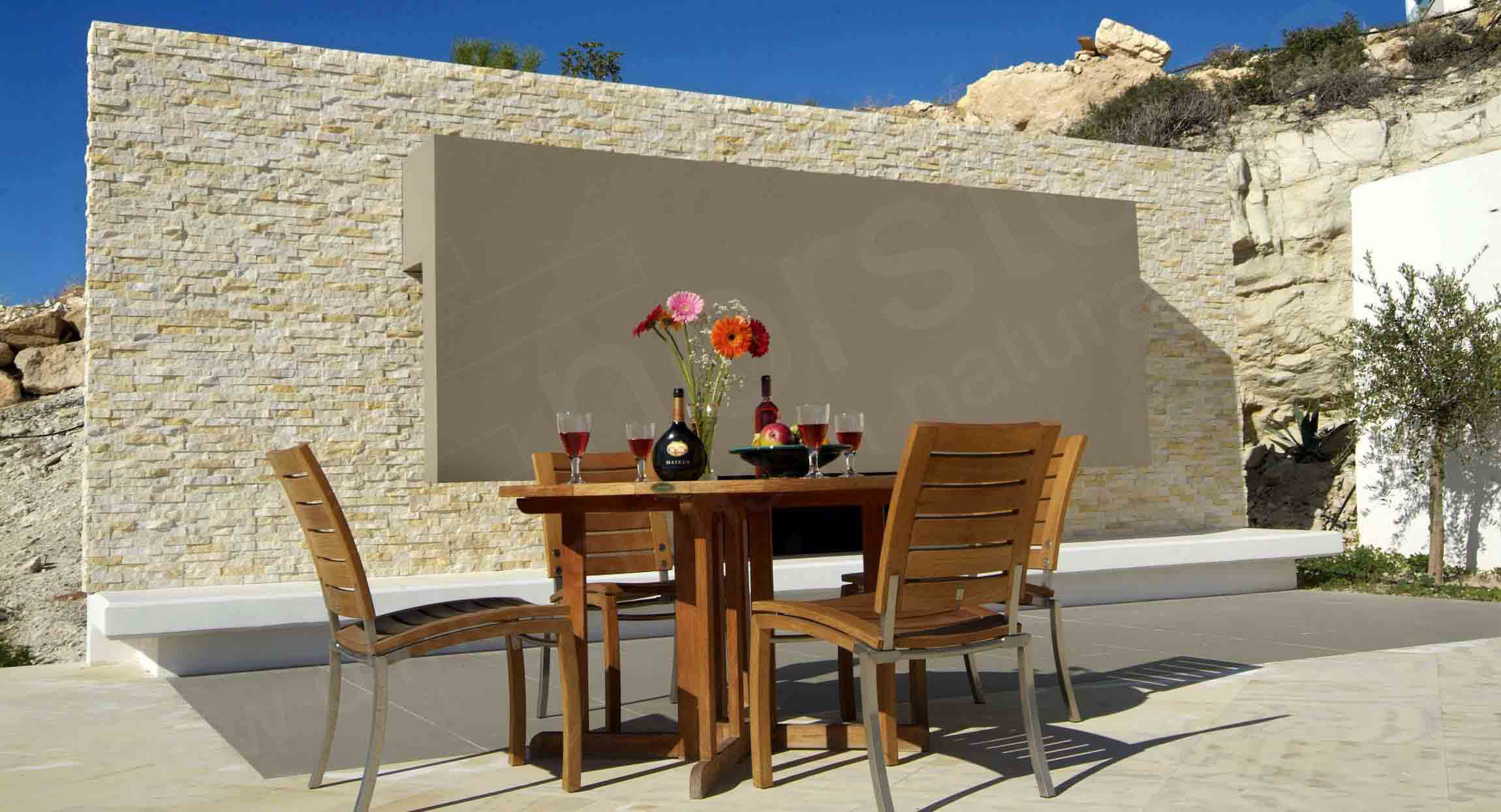 Natural Stone Patio Cyprus