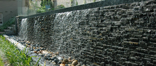 Natural Stone Water Feature