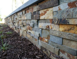 Norstone Natural Stone Retaining Wall Ochre Xl
