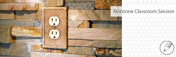 Stone veneer backsplash blog