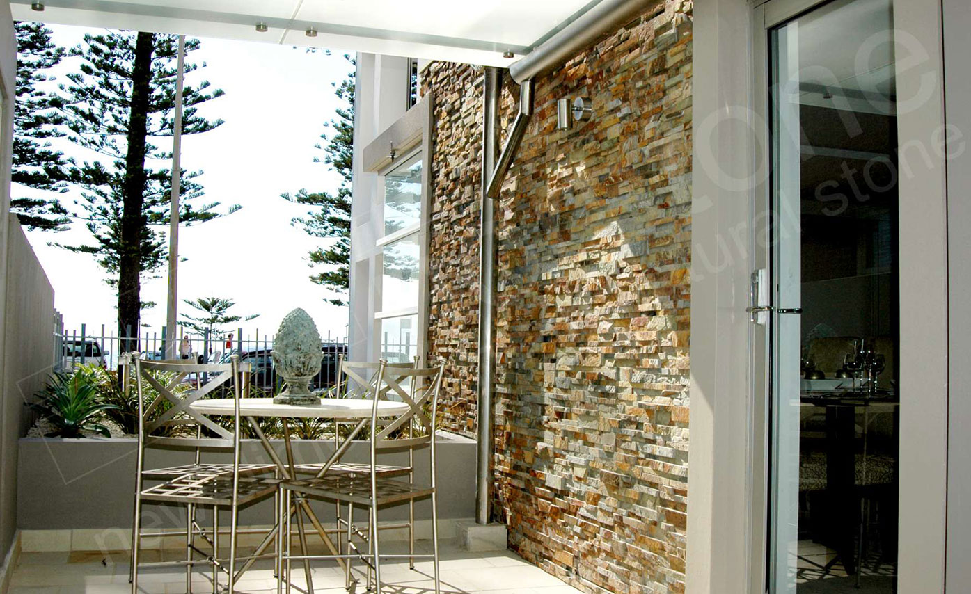 Natural Thin Stone Veneer for Exterior Walls
