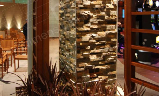 Natural Stacked Stone Veneer for Stone Columns