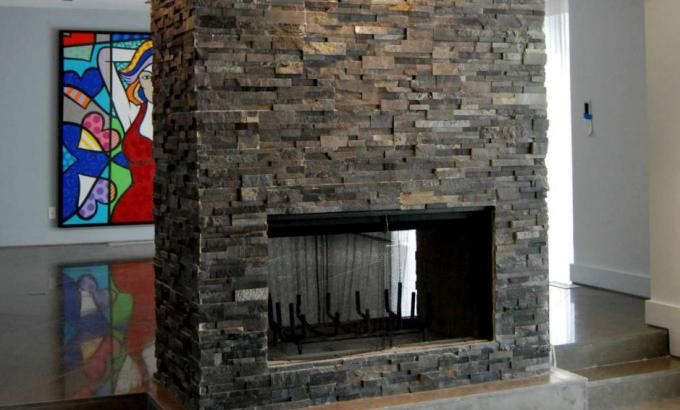 Grey Stacked Stone Walls Gallery
