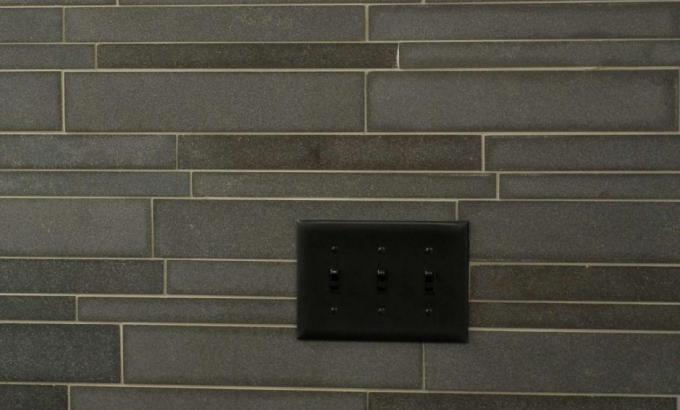 Basalt Feature Wall Switch Plate