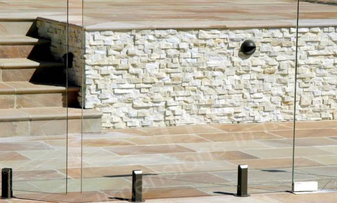 Natural Stacked Stone Veneer Example