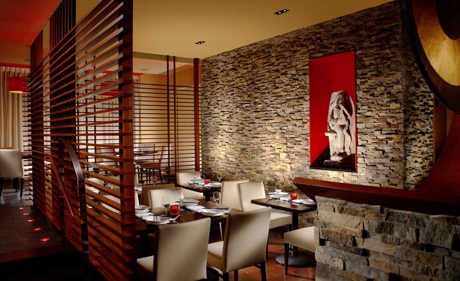 Interior Ledgestone Veneer Panels for Restaurant Design
