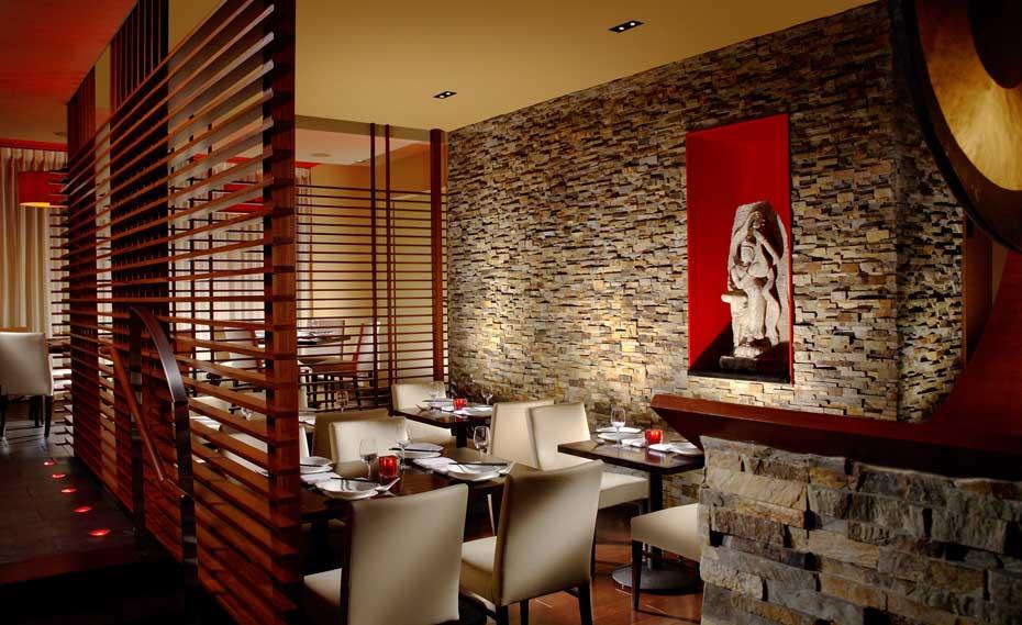 Interior Ledgestone Panels for Restaurant Design
