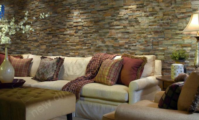 Dry Stacked Stone for Feature Walls