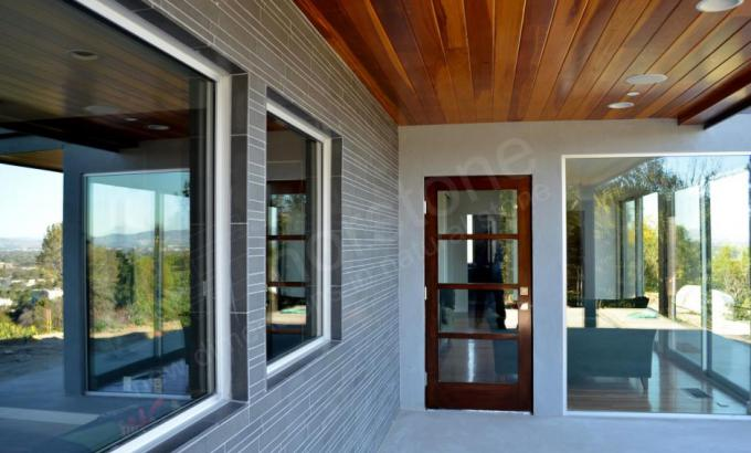 Modern Stone Veneer : Exterior stacked stone veneer wall cladding by norstone
