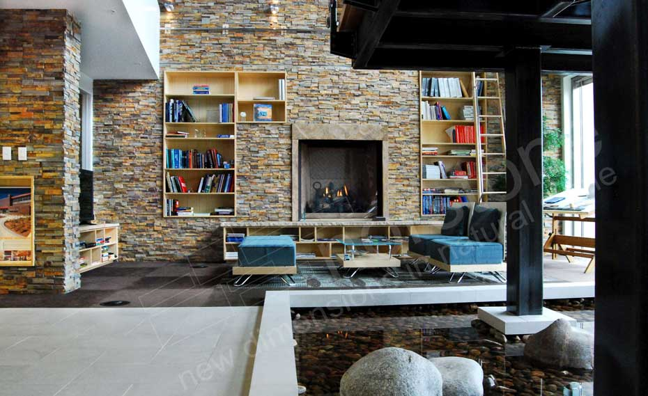 Fireplace Designs Natural Stone