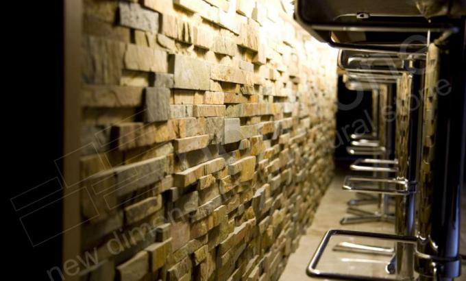 Norstone Stacked Stone Rock Panels for Bars