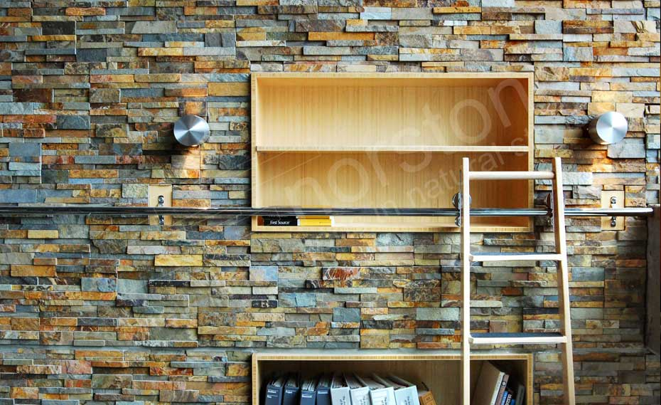 Natural Ledgestone Veneer Panel for Walls