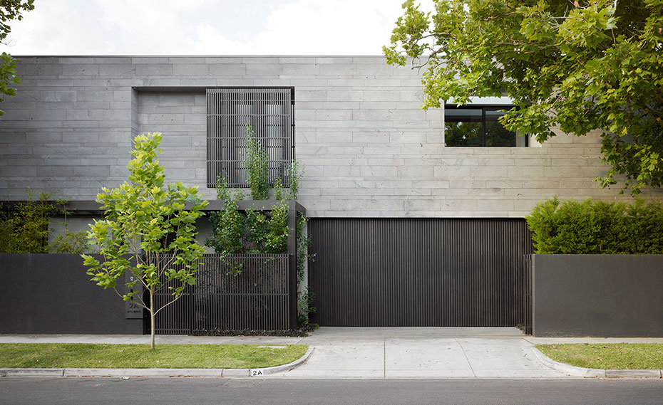 Norstone's Platinum PLANC in a Custom Cut Format used on a home in Sydney