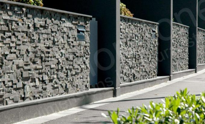 Charcoal Rock Panel