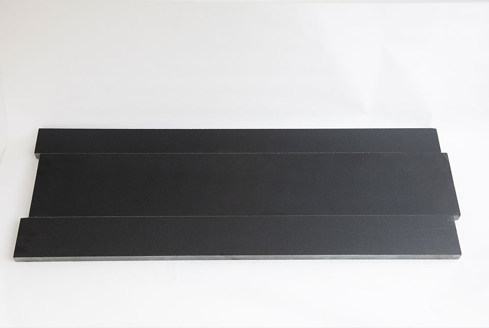 Ebony Planc Natural Stone Basalt Stone Linear Planks