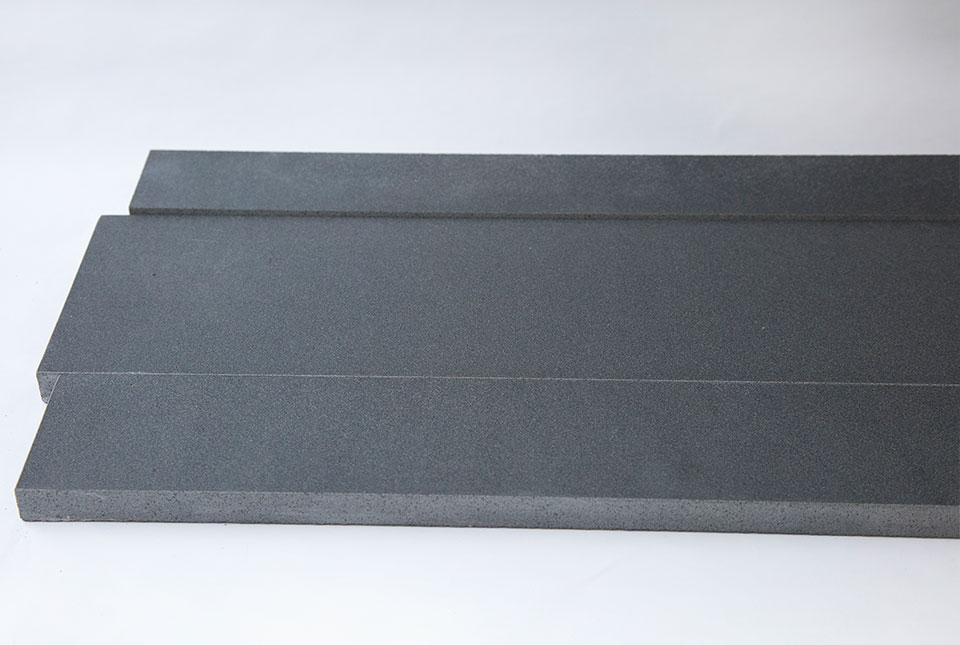 Grey Basaltic Stone Planks Used For Walling