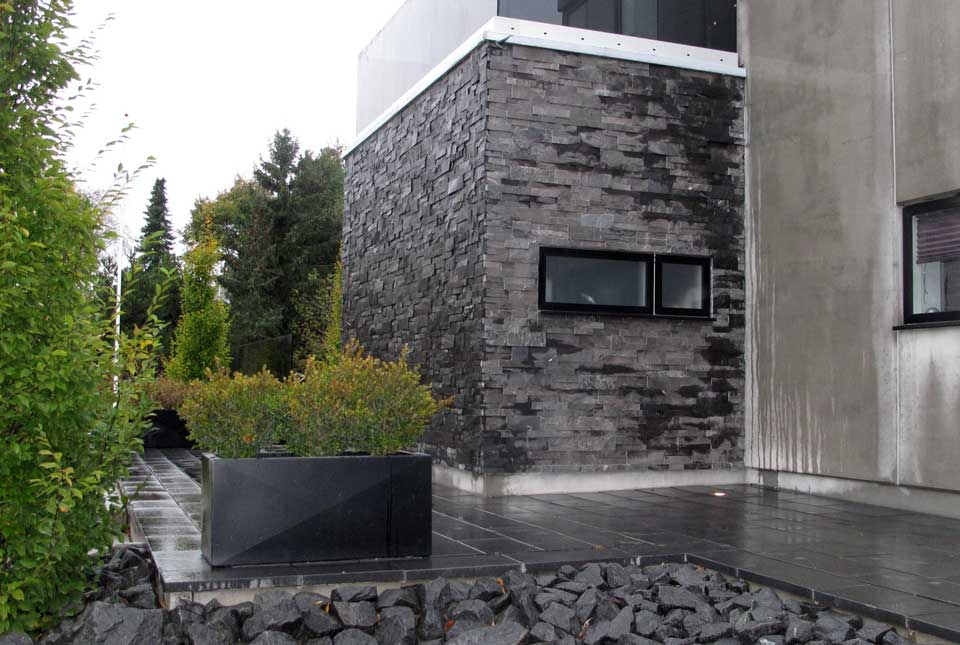 Thin Stone Veneer for Facades