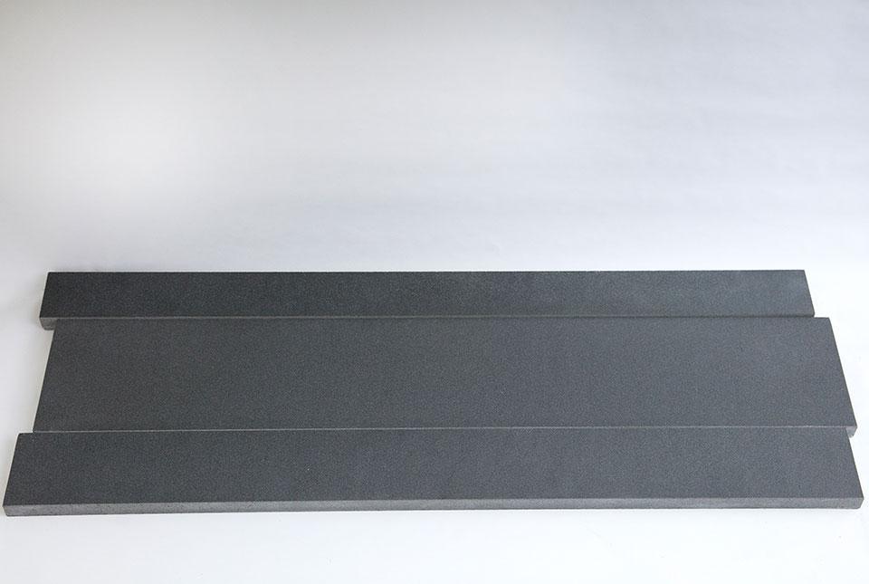 Ash Grey Planc Natural Stone Basalt Stone Linear Planks