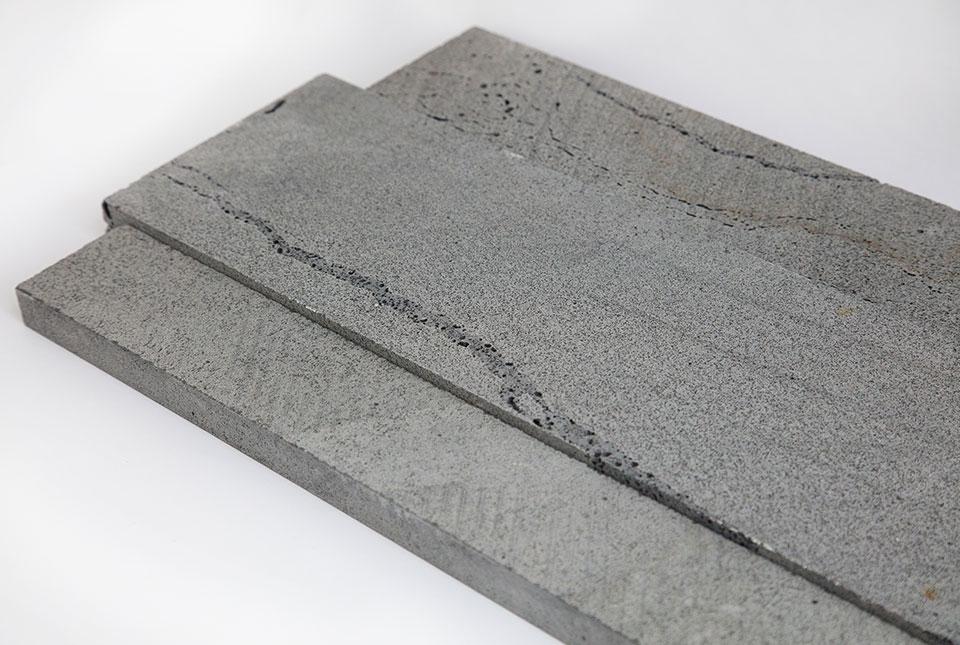 Platinum Grey Lavastone Planc Natural Stone Basalt Stone Linear Planks