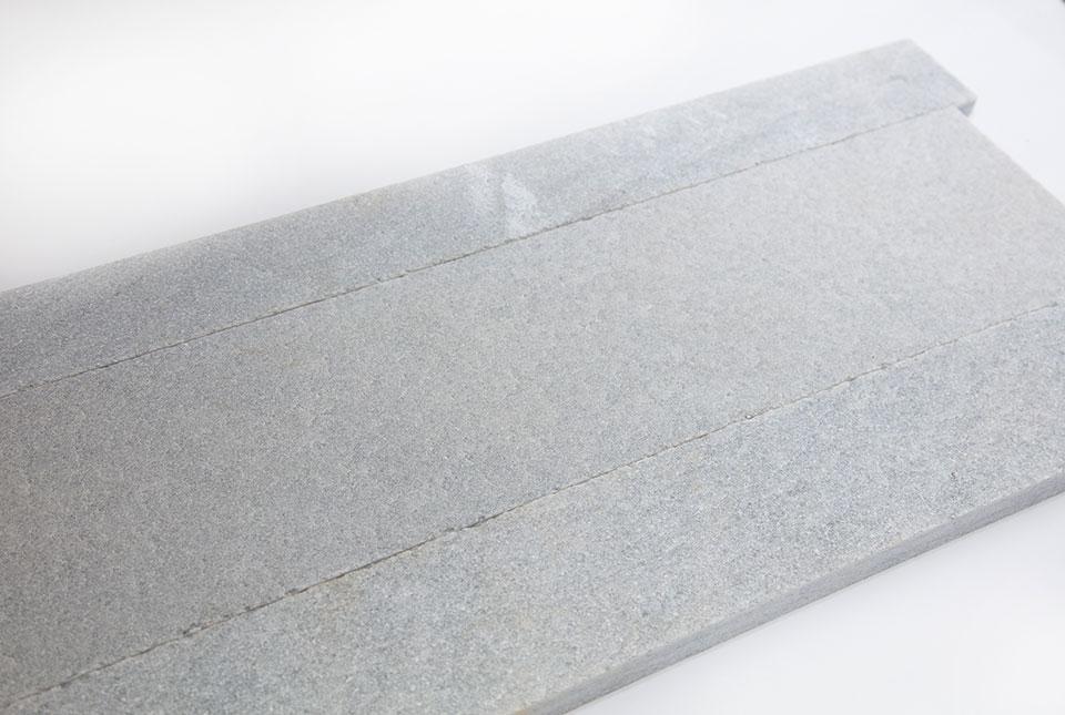 Silver Grey Quartz Planc Natural Stone Stone Linear Planks