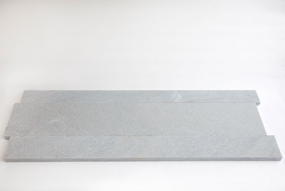 Silver Grey Quartz Stone Planks Used For Walling