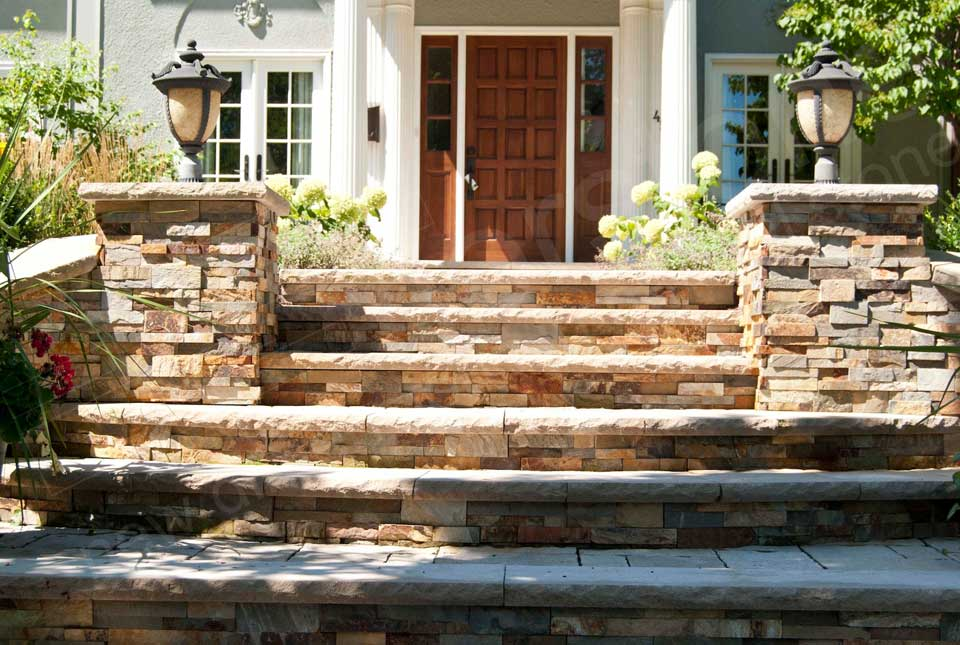 Thin Stone Veneer for Landscaping