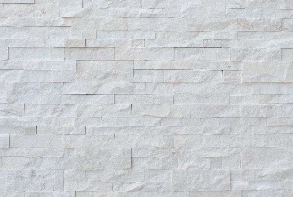 Color Batch Example Wall of White Quartz