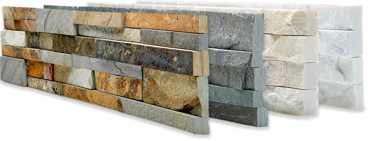 Natural Stacked Stone Veneer Wall Panels | Rock Siding Panels ...