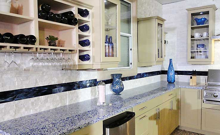 Norstone Natural Stone Kitchen Backsplash