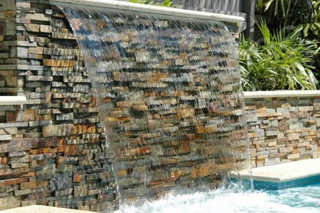 Norstone Ochre Ledgestone Pool in Miami Florida