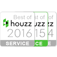 Norstone is a 3 time award winning firm on Houzz.com for its services to the public in 2014, 2015, and 2016