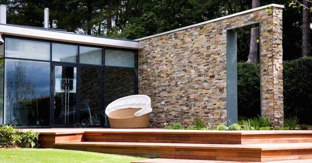 Exterior Stacked Stone Veneer Wall Siding Norstone Usa