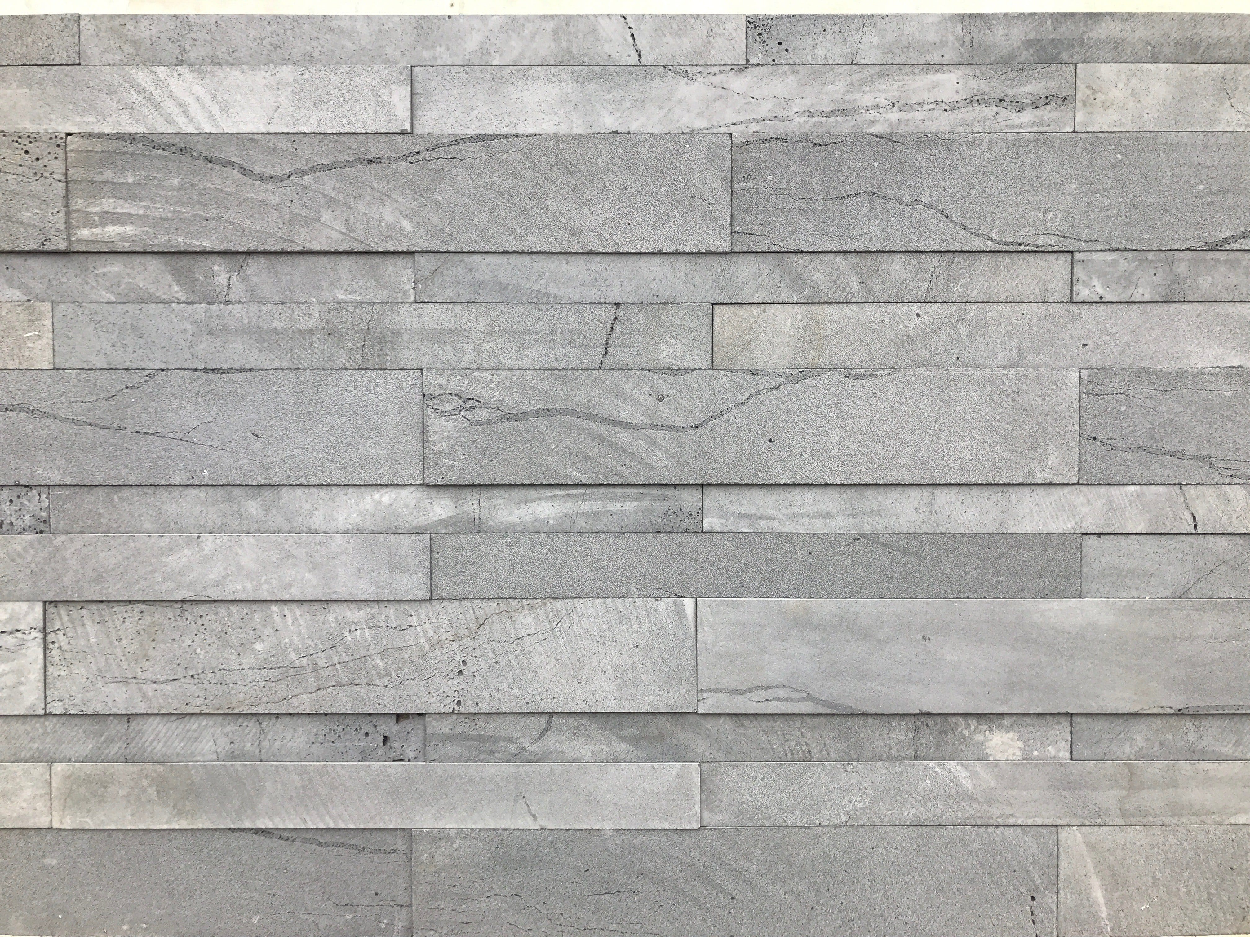 Large Format Stone Veneer Strips made of Lavastone