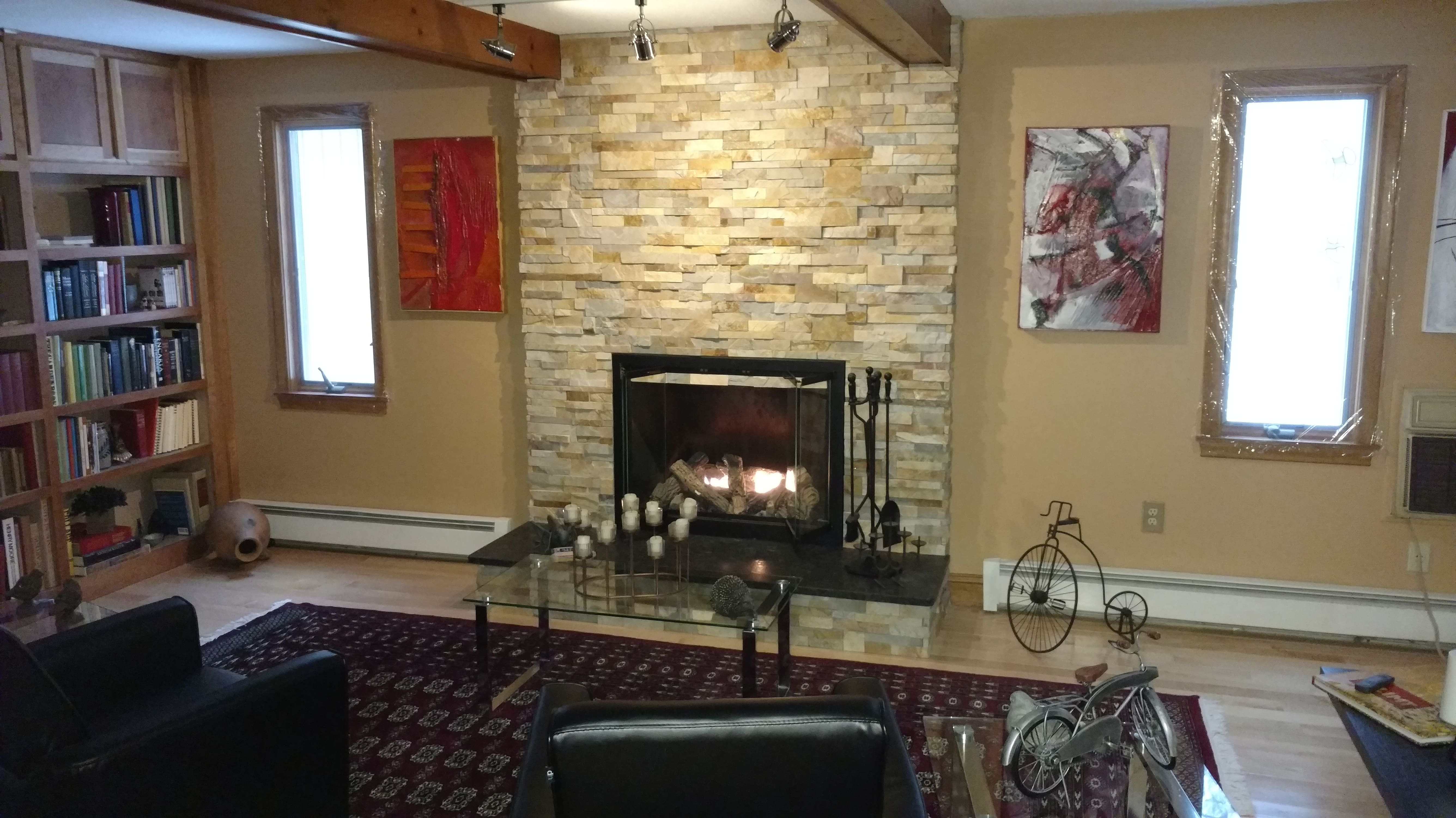 Norstone Aztec XL Fireplace Remodel Project